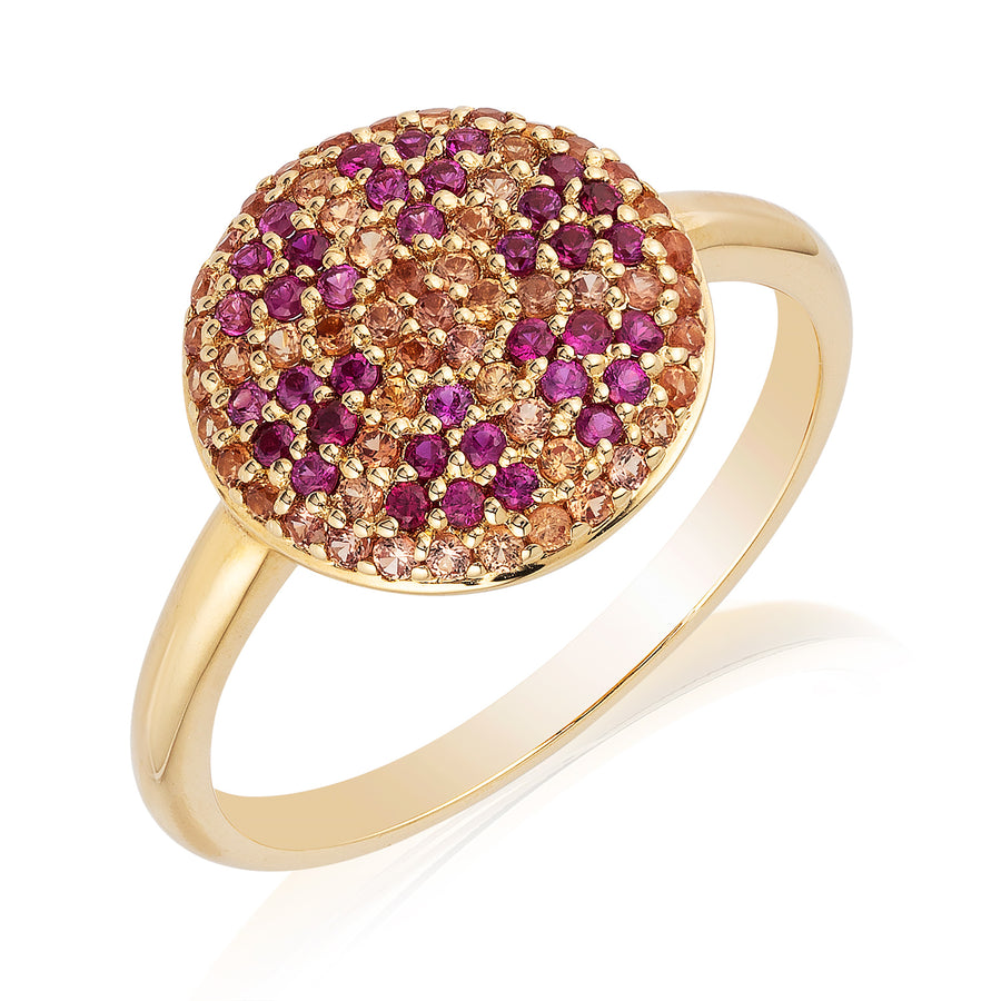 Citron Hera Ring Pink