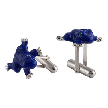SET OF 2 FROG CUFFLINKS
