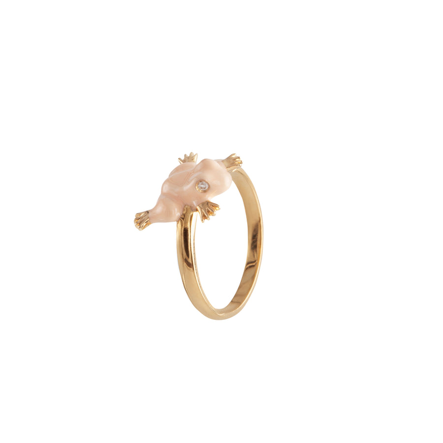 FROG GOLD RING