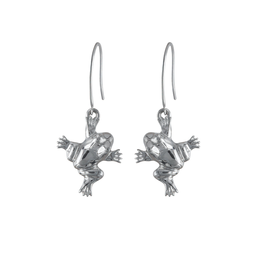 FROG HOOK EARRINGS