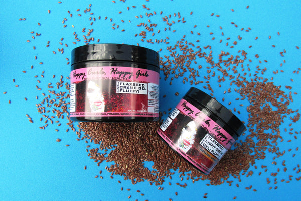 Natural Flaxseed Light Crème Gel: Fluffy!