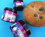 Coconut water hair gel in various sizes