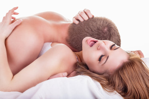 Passionate Couples Sexual Intercourse Embrace With Sex Toys