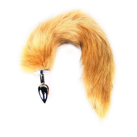 MasterKink Brown Faux Fur Tail