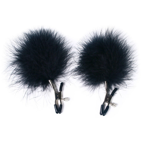 MasterKink Feather Nipple Clamps