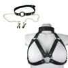 MasterKink Harness with Gag and Clamps