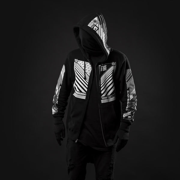 Launchpad v3.0 zip-up hoodie