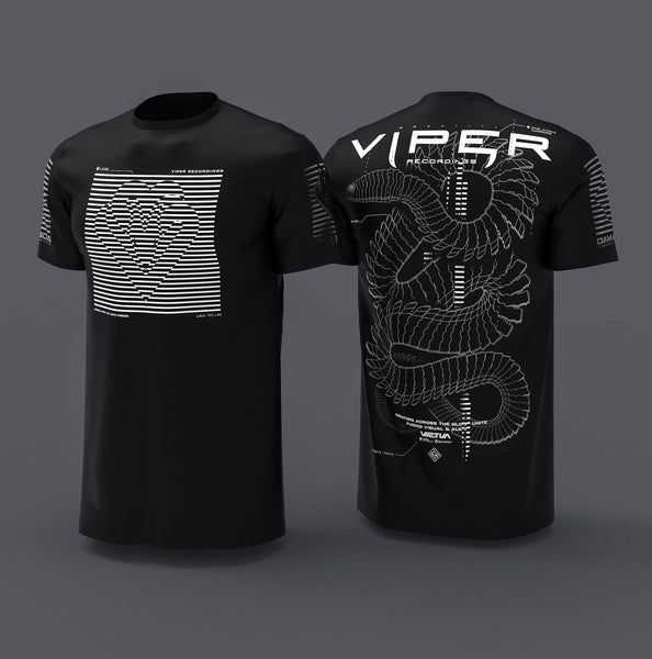 Viper Recordings V2 ( White ink )