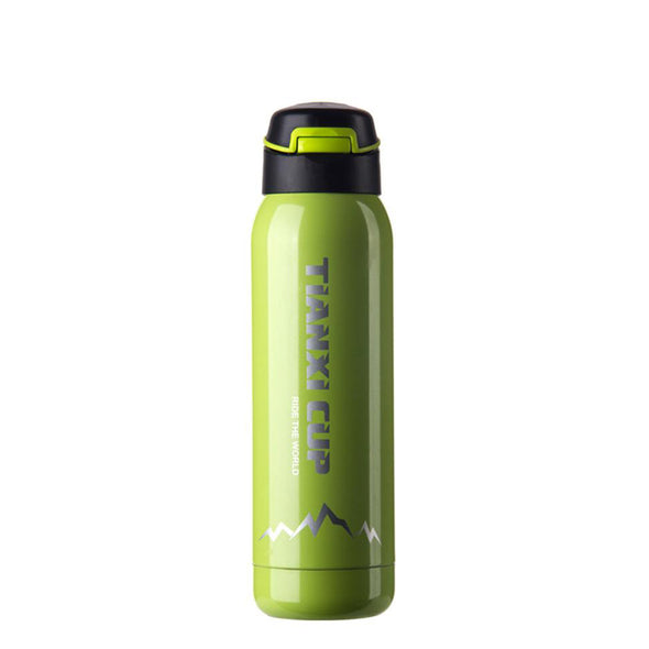 Thiirst Heavy Metal Double-Walled Vacuum Insulated Travel Mug