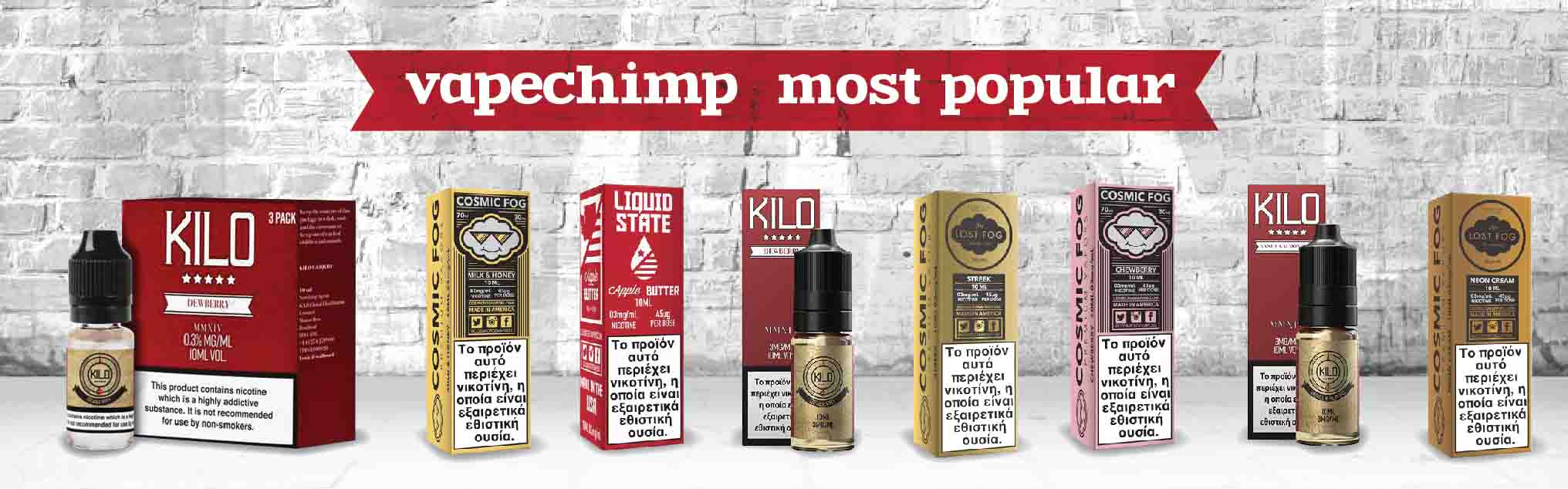 Vapechimp Most Popular E-Liquids COSMIC FOG KILO BEARD VAPE LIQUID SATE WHOLESALE GREECE CYPRUS