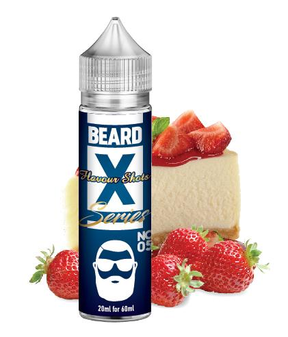 No. 05 - BEARD X - Strawberry Cheesecake by BEARD Flavor Shots - 60ml :- VapeChimp - GREECE & CYPRUS E-liquid Wholesale