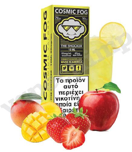 THE SHOCKER (Cosmic Fog HIGH VG) Lemonade, Strawberry, Mango & Apple  - 60ml (6 * 10ml TPD Bottles) :- VapeChimp - GREECE & CYPRUS E-liquid Wholesale