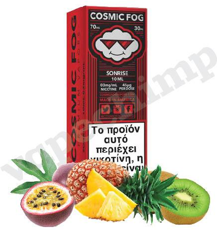 SONRISE (Cosmic Fog HIGH VG) Passion Fruit, Kiwi & Pineapples  - 60ml (6 * 10ml TPD Bottles) :- VapeChimp - GREECE & CYPRUS E-liquid Wholesale