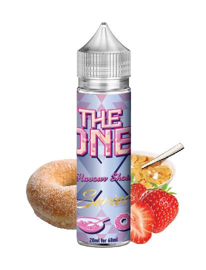 THE ONE - STRAWBERRY DONUT CEREAL MILK by  BEARD Flavor Shots - 60ml :- VapeChimp - GREECE & CYPRUS E-liquid Wholesale