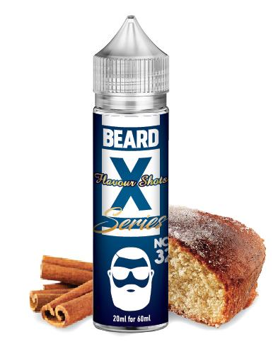 No. 32 - BEARD X - Cinnamon Funnel Cake BEARD Flavor Shots - 60ml :- VapeChimp - GREECE & CYPRUS E-liquid Wholesale