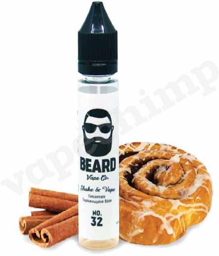 No. 32 - Cinnamon Funnel Cake BEARD VAPE CO. MIX & VAPE - 30ml :- VapeChimp - GREECE & CYPRUS E-liquid Wholesale