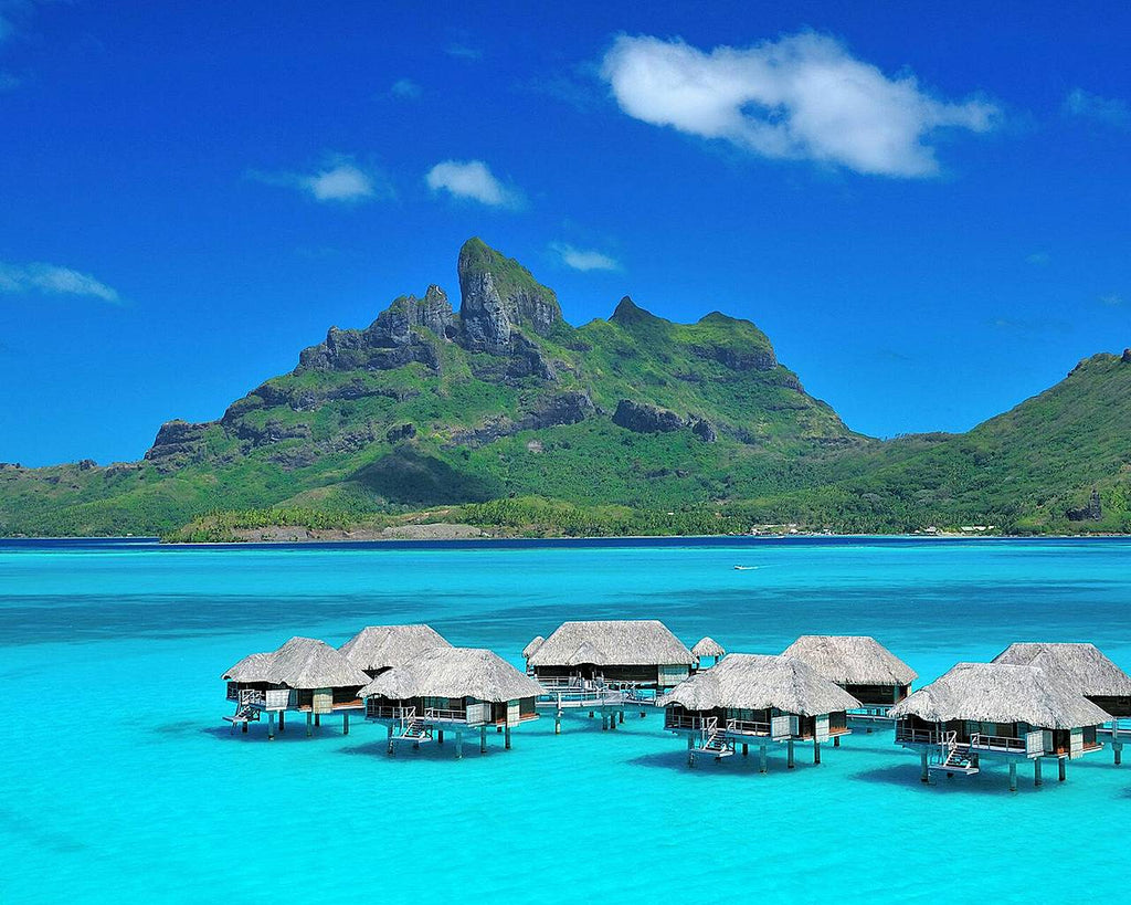 Where to Standup Paddle Board: Bora Bora, Tahiti