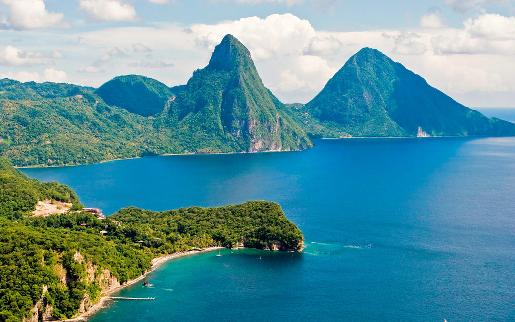 Where to Standup Paddle Board: St. Lucia, Caribbean
