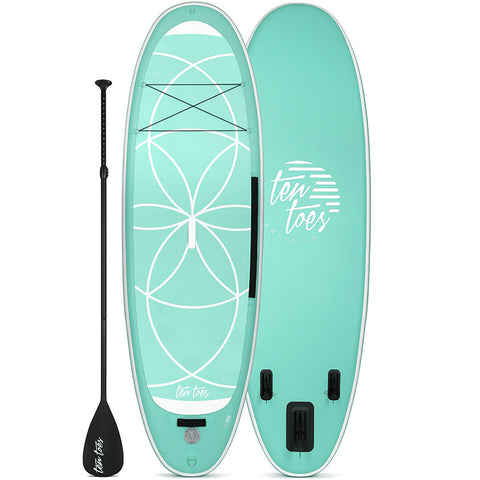 YOGI 10' Xtra Wide Inflatable Stand Up Paddleboard (SUP)