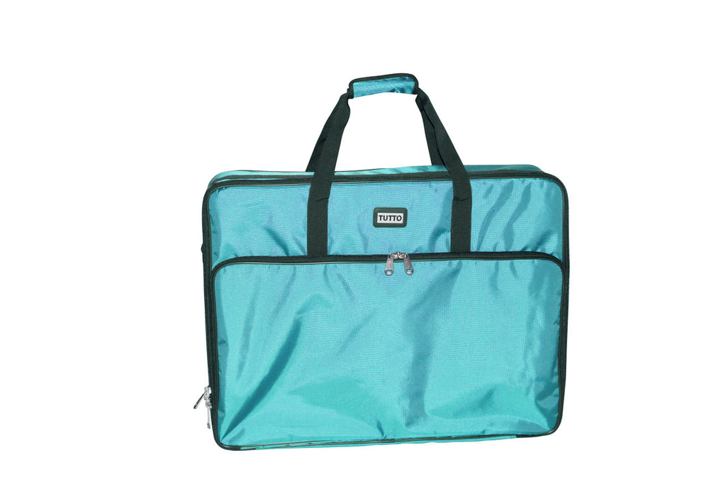 Tutto 28 Embroidery Project Bag In Turquoise by Tutto