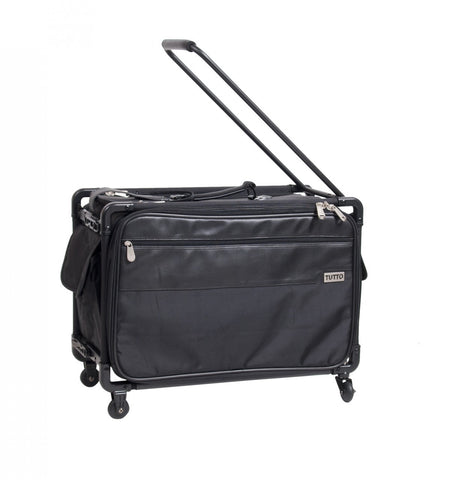 Tutto Wide & Tall Office On Wheels with Steno Machine Inner Bag