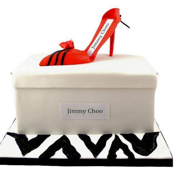 Jimmy Shoe Choo Chocolate Cake