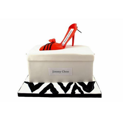 Jimmy Shoe Choo Chocolate Cake - KimBeAu