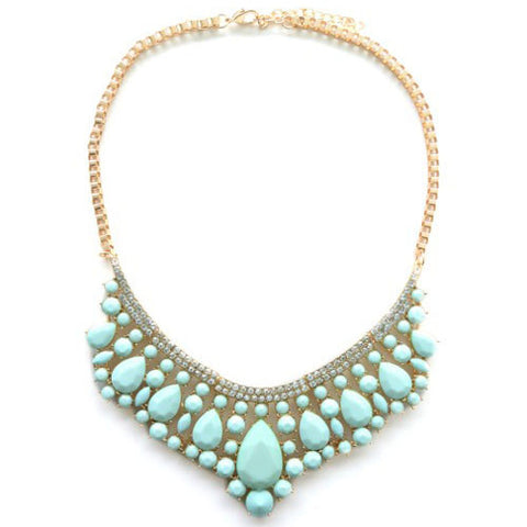 The Exclusive Mint Stone Necklace