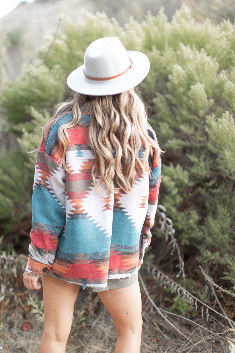 Chelsea Aztec Shacket