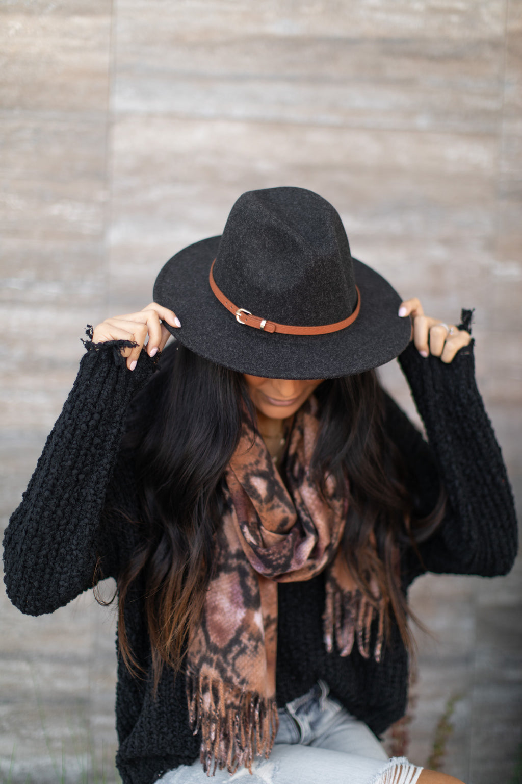 STEVIE FELT RANCHER HAT | BLACK