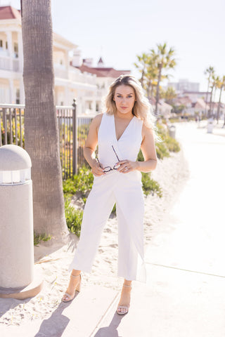 REED CROCHET LACE TOP | BLACK