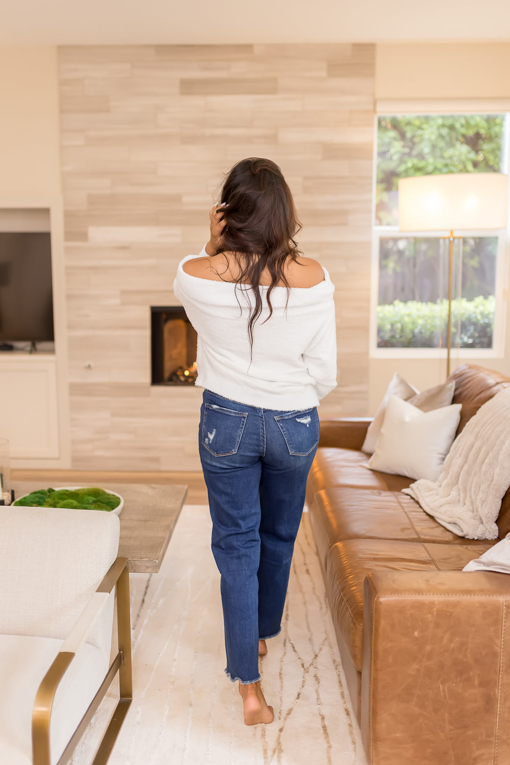 POPPY SHEER FLORAL PEASANT TOP | SAND