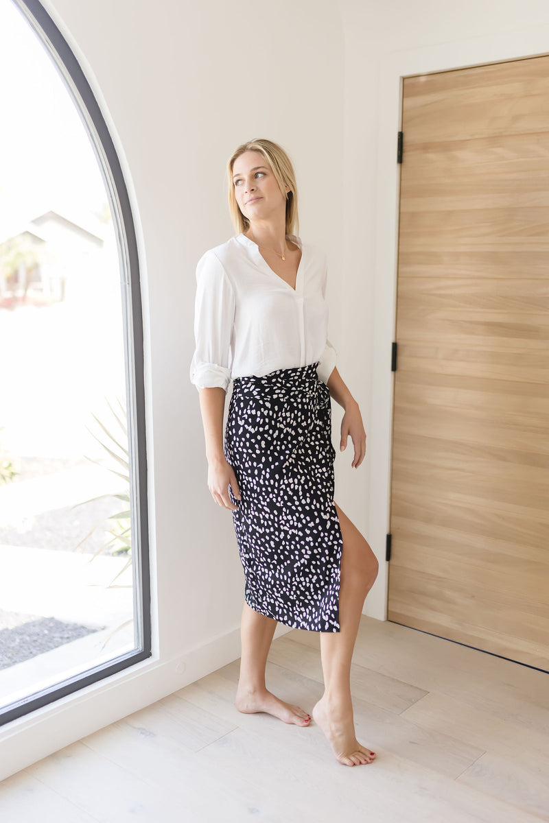 REGINA DOUBLE RING BELT | GRAY SNAKESKIN GOLD