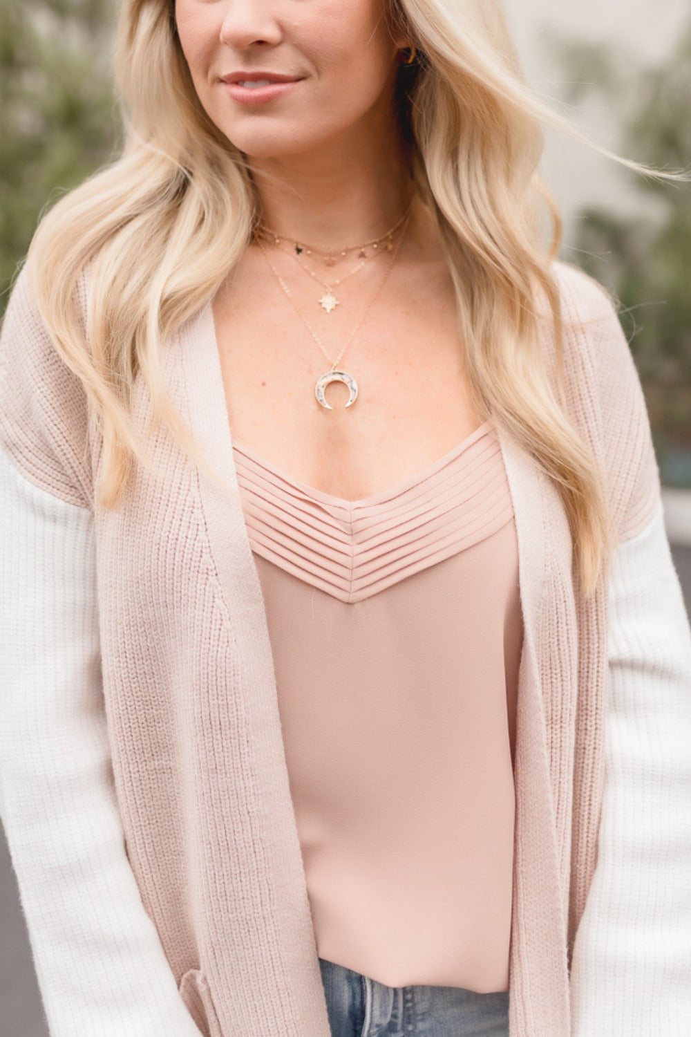 LEYTON MULTI-LAYER GOLD NECKLACE