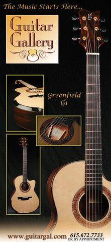 Greenfield Guitars at Guitar Gallery