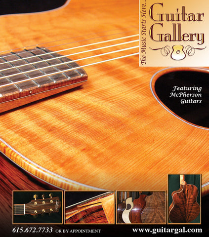 McPherson Guitars at Guitar Gallery