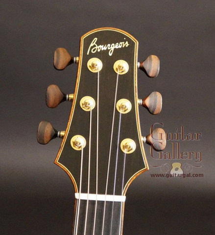 Bourgeois Guitars at Guitar Gallery