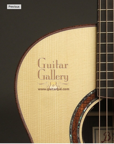 Beneteau Guitars at Guitar Gallery