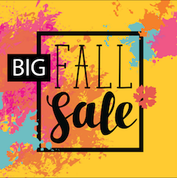 bug fall sale