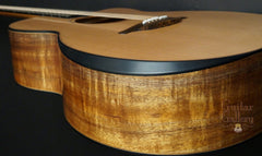 Lowden O50c Koa Guitar bevel
