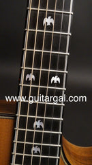 Olson guitar dove inlays