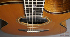 Olson SJ cutaway guitar with doves