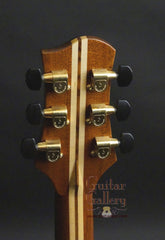 Olson SJ cutaway guitar headstock back