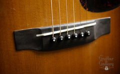 1944 Martin D-18 guitar bridge