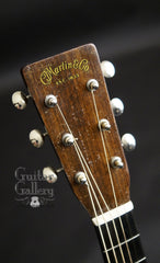 1944 Martin D-18 guitar headstock