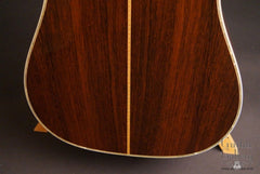 1987 Martin D-45 guitar Brazilian rosewood back low