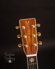 1987 Martin D-45 guitar headstock