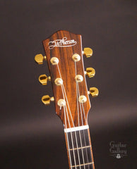 McPherson MG-3.5XP guitar Brazilian rosewood headstock