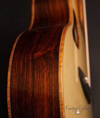 McPherson MG-3.5XP guitar Brazilian rosewood side detail