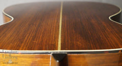 vintage Martin 000-21 guitar down back view